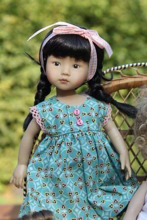 a lovely doll